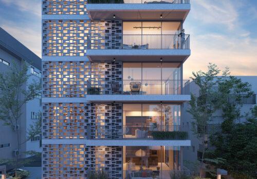 פנטהאוז בבניין חדש ברחוב שנקין בחלק הכי יפה