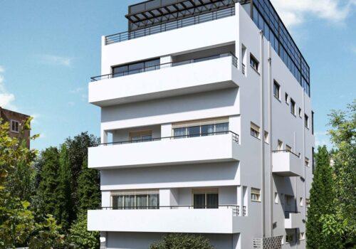 פנטהאוז מדהים בבניין לשימור – סמטה מגורדון